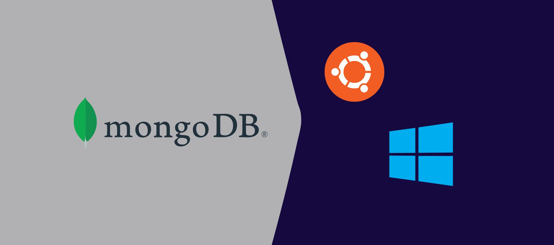 How To Uninstall MongoDB from Windows and Ubuntu